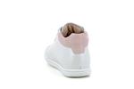 fasty  blanc imprime rose palmes - Photo